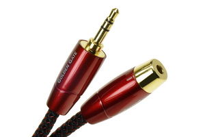 Audioquest Golden Gate 3,5 mm Male/Female - przedłużacz mini jack 3,5 mm stereo