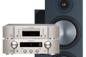 Marantz PM7000N | CD6007 | Monitor Audio Bronze 500 - zestaw stereo