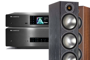Cambridge Audio CXA80 | CXN v2 | Monitor Audio Bronze 6 - zestaw stereo