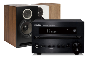 Yamaha CRX-B370D | Elac Debut Reference B6 - zestaw stereo
