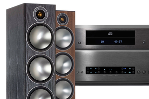 Cambridge Audio CXA80 | CXC | Monitor Audio Bronze 6 - zestaw stereo