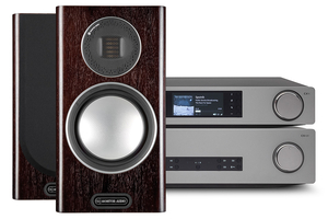 Cambridge Audio CXA81 | CXN v2 II | Monitor Audio Gold 100 - zestaw stereo