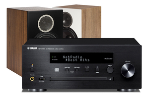 Yamaha CRX-N470D | Elac Debut Reference B6 - zestaw stereo