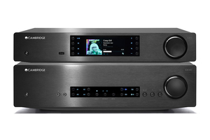 Cambridge Audio CXA80 | CXN v2 - zestaw stereo